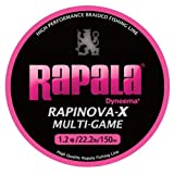 Rapala(ラパラ) ライン ラピノヴァX マルチゲーム ピンク 150m 1.2号