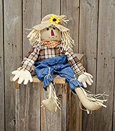 Johnny Scarecrow - Primitive Country Fall Thanksgiving Plush Seasonal Decor