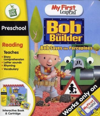 LeapFrog My First LeapPad Book: Bob the Builder Bob Saves the Porcupines (Bob the Builder: Bob Saves the Porcupines) - 1