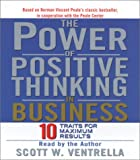 img - for The Power of Positive Thinking in Business: The Roadmap to Peak Performance book / textbook / text book
