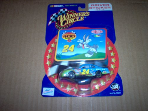 Jeff Gordon Bugs Bunny Looney Tunes Richmond 400 Winners Circle 1/64 Sticker Series - 1