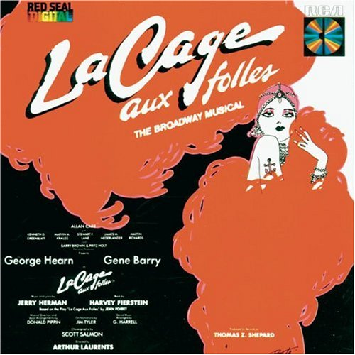 Original album cover of La Cage Aux Folles: The Broadway Musical by Jerry Herman