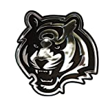 Cincinnati Bengals Chrome 3D for Auto Car Truck Emblem Decal Sticker Football Licensed Team Logo Amazon.com