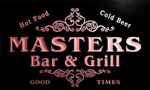 u28745-r-masters-family-name-bar-grill-home-beer-food-neon-sign-barlicht-neonlicht-lichtwerbung