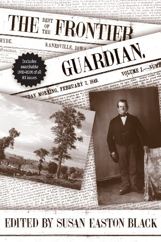 The Best Of The Frontier Guardian (Documents In Latter-Day Saint History)