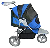 Pet Gear AT3 All-Terrain Pet Stroller for cats and dogs up to 60-pounds,  Blue Sky thumbnail