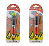Angry Birds 10-Colour Pen with 3D Topper