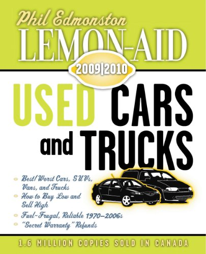 Lemon-Aid Used Cars and Trucks 2009-2010 (Lemon Aid New and Used Cars and Trucks)