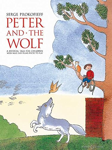 Peter and the Wolf: Children's Book with Easy Piano Pieces