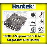 Hantek1008C USB 8CH Automotive Diagnostic Oscilloscope DAQ Program Generator