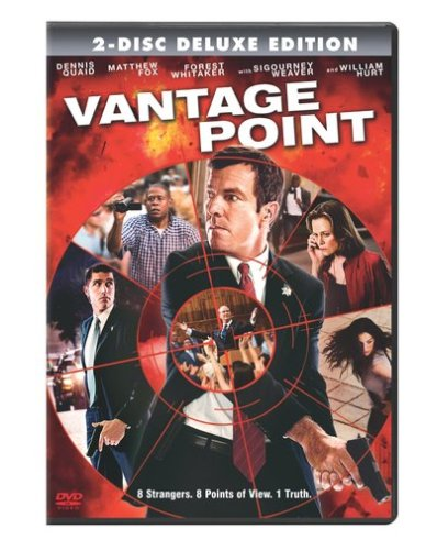 vantage point two disc deluxe edition dvd 2008