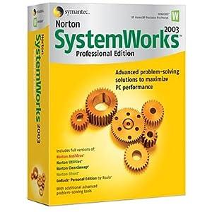 Symantec Norton SystemWorks Pro 2003 (1 cd)