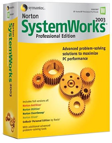 Norton Systemworks 2003 Pro front-599340