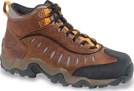 timberland mudslinger mid steel toe hiking boot.