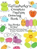 img - for Ed Emberley's Complete Funprint Drawing Book   [EE COMP FUNPRINT DRAWING BK TU] [Prebound] book / textbook / text book