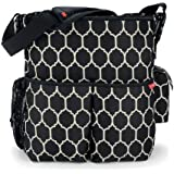 Skip Hop Duo Essential Diaper Bag, Onyx Tile (Discontinued by Manufacturer)