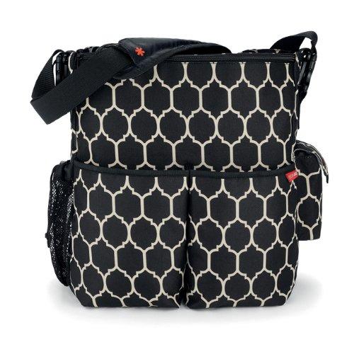 Skip Hop Duo Essential Diaper Bag, Onyx Tile