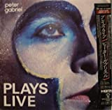 Peter Gabriel Plays Live - Japan LP