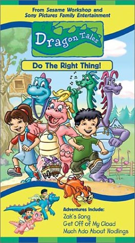 Dragon Tales - Do the Right Thing [VHS]