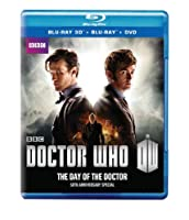 Doctor Who 50th Anniversary Special: The Day of the Doctor (Blu-ray 3D / Blu-ray / DVD Combo) from BBC Home Entertainment