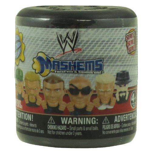 WWE Wrestling Mashems Series 1 Squishy Mini Figure PACK [1 Random Figure] - 1