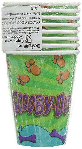 scooby-doo 9 oz. cups - 1
