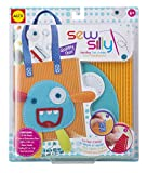 ALEX Toys Kid's Sew Silly Handbag Craft Kit with Monster Designs, Assorted Colors