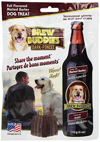 Omega Paws Brew Buddies Dark Chew, Adult