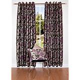 ScatterBox 229 x 229 cm Wisteria Curtains, Heather, Purple