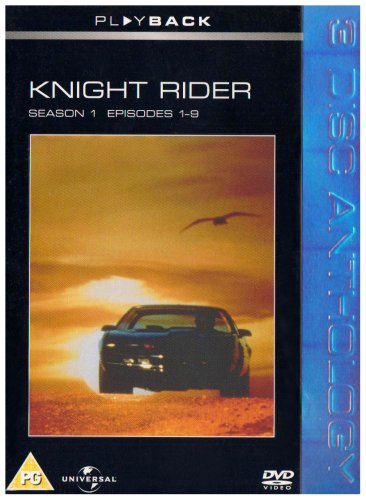 Knight Rider - Season 1 Episodes 1 - 9 [DVD]