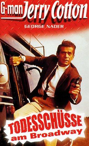 G-man Jerry Cotton - Todesschüsse am Broadway [VHS]