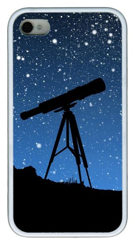 Iphone 4 Case Buy Cover Sky Telescope Tpu White For Apple Iphone 4/4S