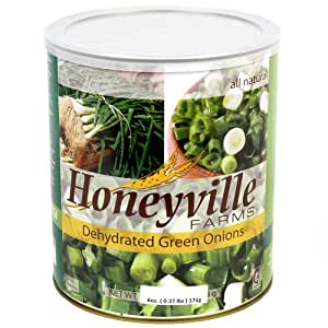 Dehydrated Green Onions - 8 Ounce Can