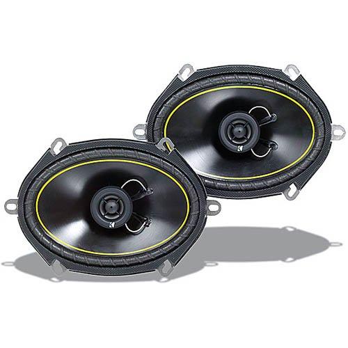 Kicker 07Ds680 6-Inch X 8-Inch 152Mm X 203Mm Coax Speakers (Pair)