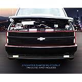 Fedar 1994-1999 Chevy Blaze/C/K Pickup/Suburban/Tahoe Phantom Billet Grille Grill 2-pcs Set-Black # 320369