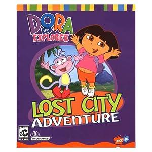 Amazon.com: Dora the Explorer: Lost City Adventure: Office