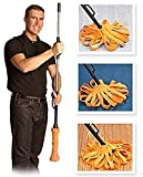 Starz Best Smart Spin Twister Mop System, Deluxe 360 Degree Twist Spin Floor Cleaning Mops (Orange Color)