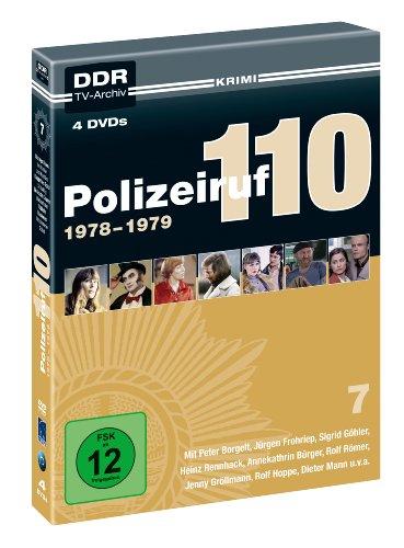 Polizeiruf 110 - Box 7: 1978-1979 ( DDR TV-Archiv - 4 DVDs )