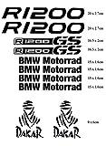 Stickers pour Moto BMW R 1200GS Motorrad Dakar Adventure d'occasion  Livré partout en Belgique