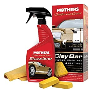 Mothers 07240 California Gold Clay Bar System from MOTHERS
