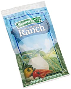 Hidden Valley Original Ranch Dressing,1.5-Ounce Packages (Pack of 84)