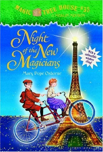 Night of the New Magicians (Magic Tree House #35, A Stepping Stone Book(TM)), MARY POPE OSBORNE