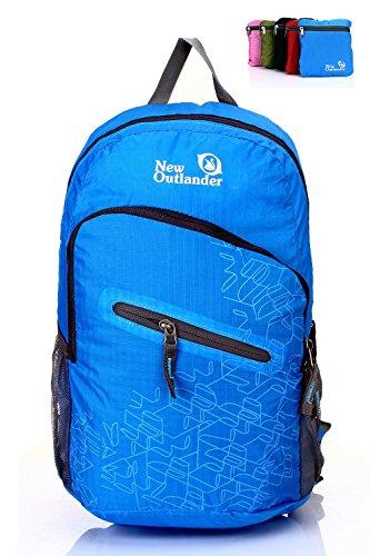 Outlander Packable Handy Lightweight Travel Backpack Daypack-light Blue-L