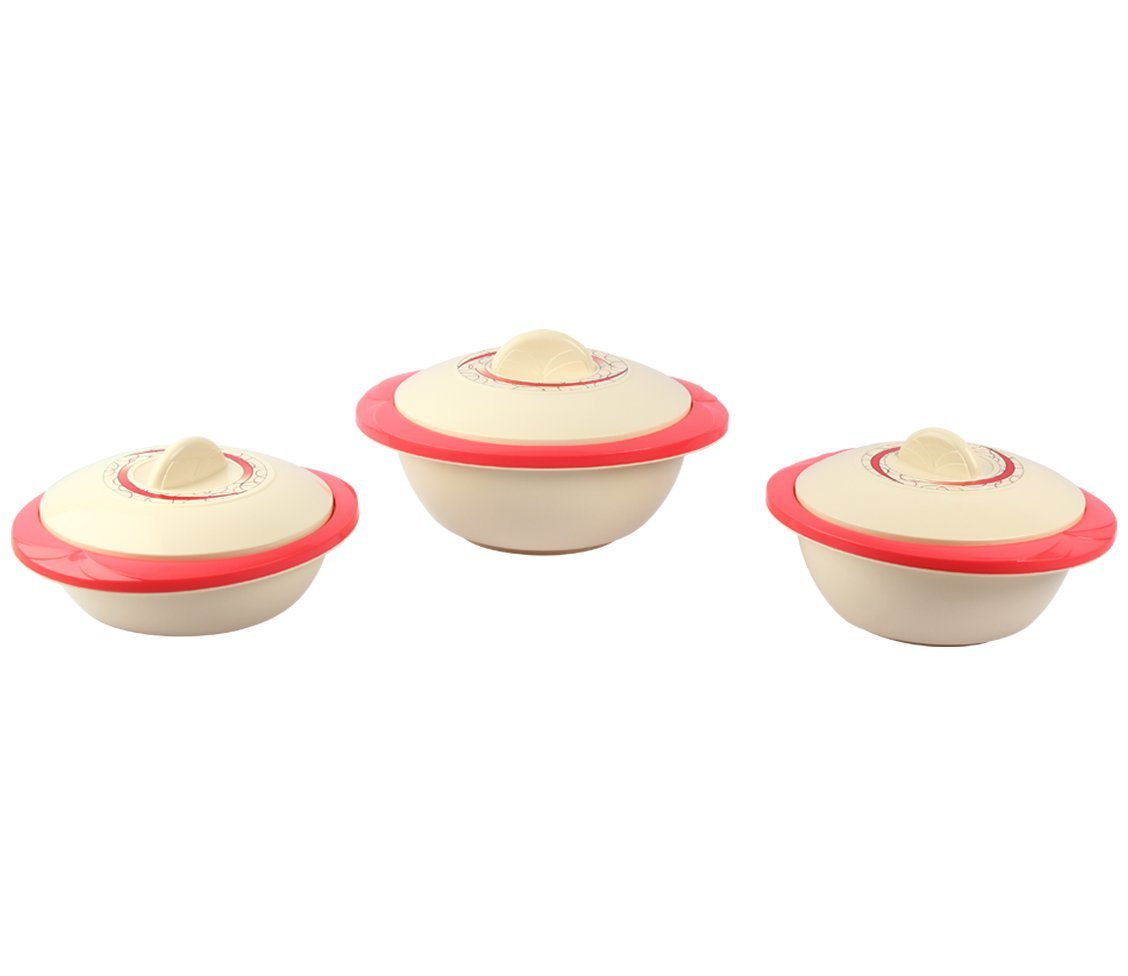 3 Size Asian Solitaire Casserole Set at Rs 499 Only from Amazon