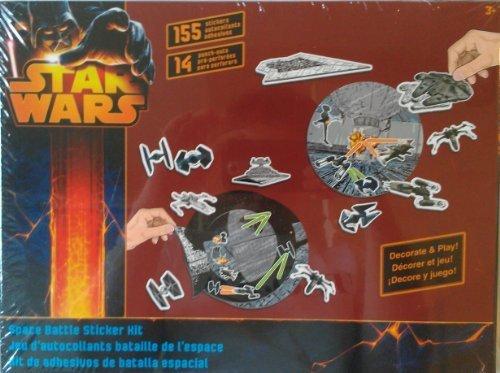 STAR WARS SPACE BATTLE STICKER KIT - 1