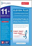 Eleven Plus Exams 11+ Essentials Comprehensions (Contemporary) for CEM: Book 2 (First Past the Post)