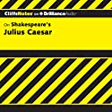 Julius Caesar: CliffsNotes (       UNABRIDGED) by Martha Perry Narrated by Luke Daniels