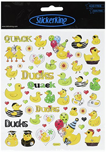 Multi-Colored Stickers-Ducks