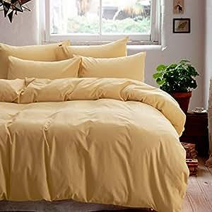 Minimalism camel bedding teen bedding kids for Minimalist bedding sets