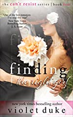 Finding the Right Girl: Sullivan Brothers Nice GUY Spin-Off Novel, Book #4 (CAN'T RESIST)